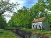 Lockhouse am C&O Canal. - Foto: Maryland Office of Tourism