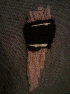 knitting pattern pan flute pipe