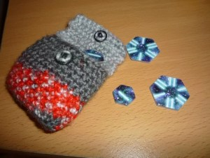 Crochet pattern Tiny tocken pouch for board game