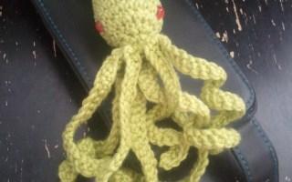 Kraken calamar squid crochet
