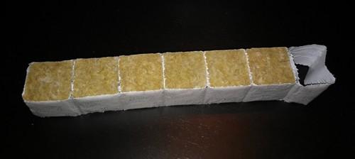cube rockwool hydroponie