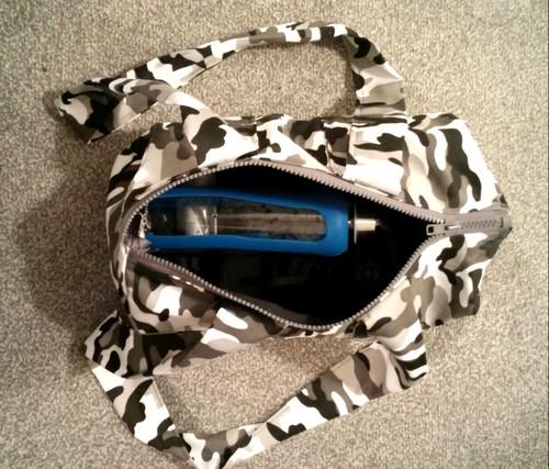 coudre un sac de sport rond duffel bag