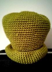 Crochet #38 : St. Patrick's Day Chapeau