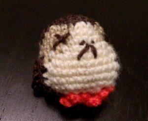 Crochet porg mort Star wars amigurumi