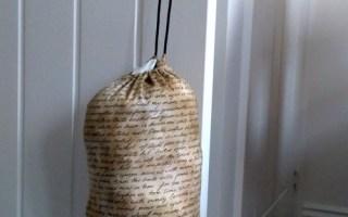 sewing plastic bag holder