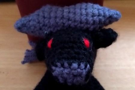 crochet buffle
