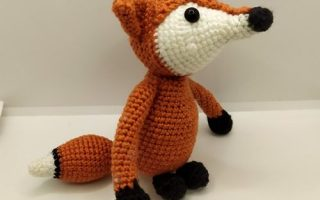 Crochet kit aldi fox