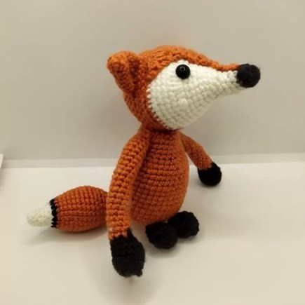 Crochet kit aldi fox