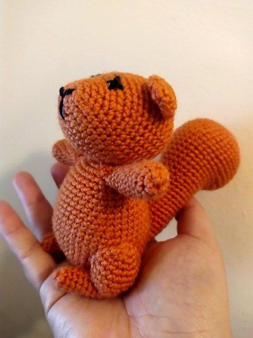 squirrel nutkin corchet Readly Simply Crochet 110