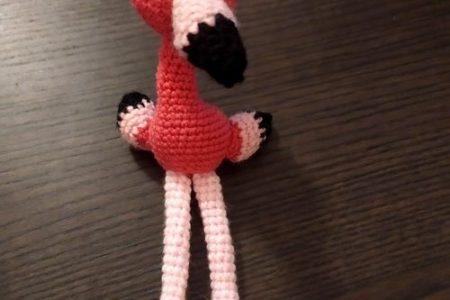 crochet flamingo amigurumi