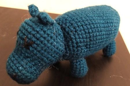 crochet hippopotame amigurumi 2
