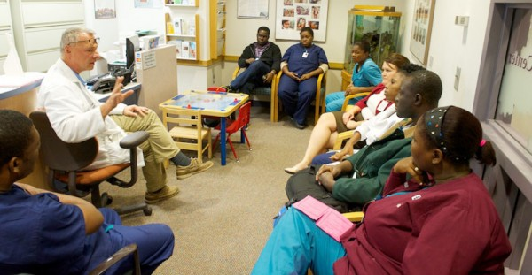 Team from St. Damien Pediatric Hospital travels to Akron, Ohio