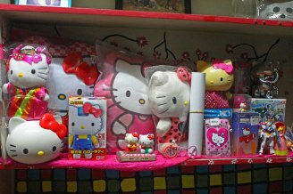 Hello Kitty Chogokin with some of my other HK collection.
