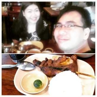 We craved for Mang Inasal last Saturday.