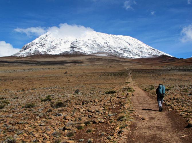 Shira Route Climb