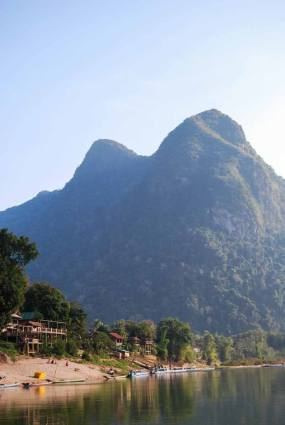Stunning scenery in northern Laos