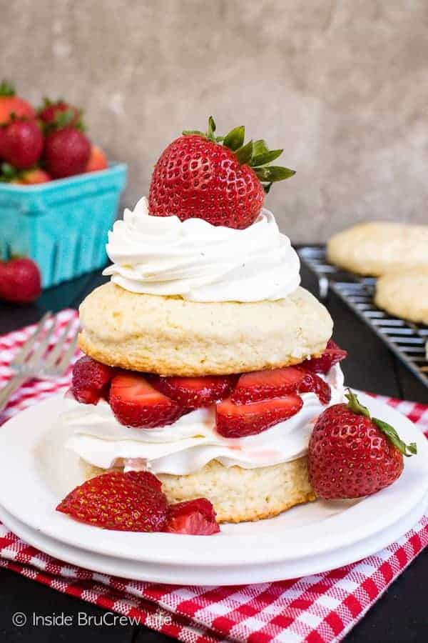 Homemade Strawberry Shortcake Inside Brucrew Life