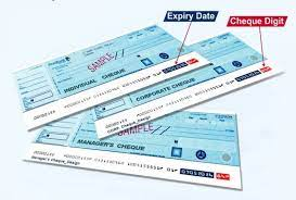Revised Cheque Book Becomes Fully Operational April 1. -