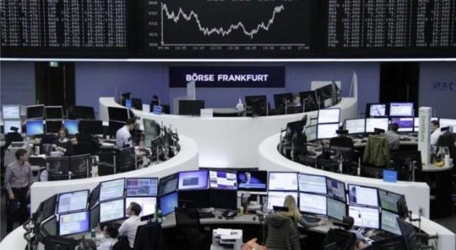 Global stocks rise as weak dollar, U.S. rate outlook keep oil strong