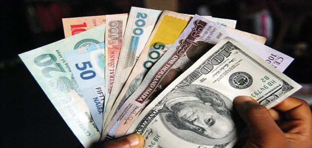 Naira Records Marginal Loss against US Dollar