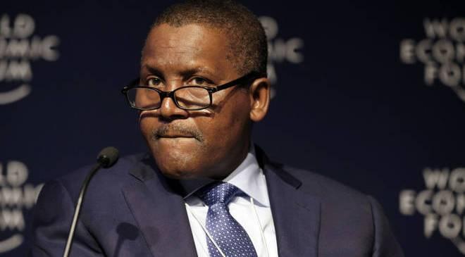 Nigeria's Dangote Tops list of African Billionaires