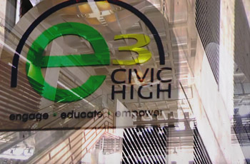e3 civic high logo