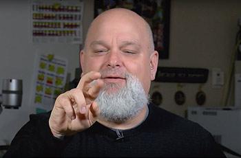 Jeff Lewis, sign language interpreter
