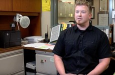 Zach Moritz, school secretary at Monterey Trail High School
