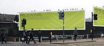 Ruskin Square adverts