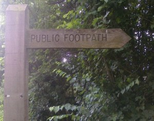 COUNTRY Public footpath