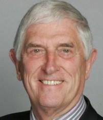 Former senior policeman David Osland: standing down at the election