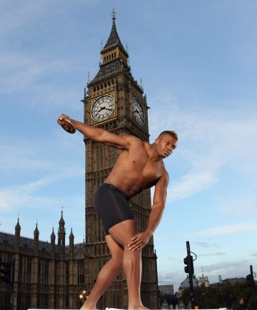 In two short years, Croydon Harrier Lawrence Okoye has become a poster boy for British athletics