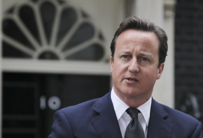 David Cameron: caught out by the way his Tory backbenchers voted