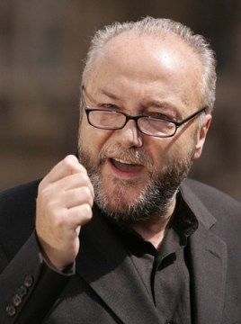 George Galloway: has said he wanted Respect to contest Croydon's local elections