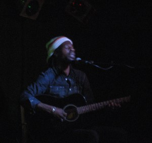 Steve Blue performing at the Scream Lounge