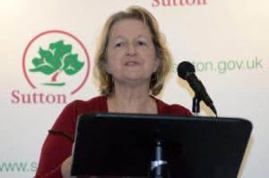 Sutton council leader Ruth Dombey: has a bit of a crisis on her hands over the incinerator