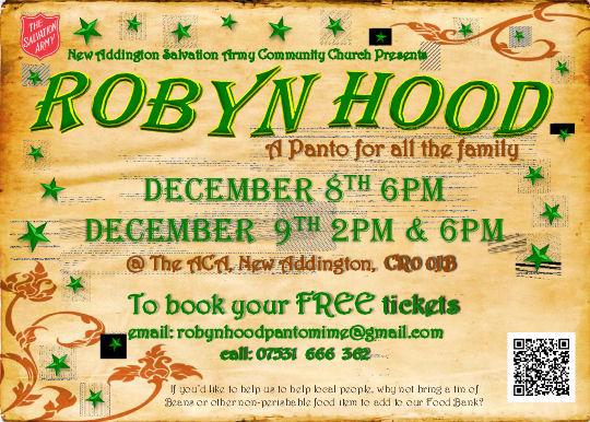 Robyn Hood Flier