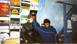 Benga and Skream where dubstep all began, in Big Apple Records on Surrey Street, c 2001