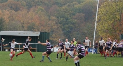 Tough going: Results have not gone the way of Croydon RFC this season
