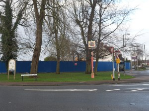 Gateway site: Lidl want to build a supermarket at this junction of Limpsfield Road