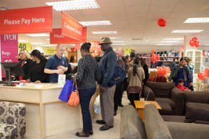 The BHF store has had a busy first month of trading