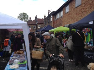 The new market has proved to be an immediate draw for local families