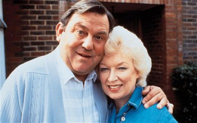 Terry Scott and June Whitfield: their sitcom was staged in Purley 30 years ago, when Croydon was a byword for sophisticated suburbia