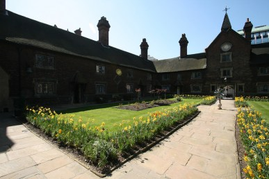 The Almshouses at North End: briefly open for public viewing