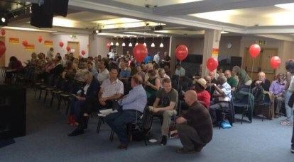 Labour members turned out in force for the Croydon Central selection hustings at the Croydon Conference Centre today
