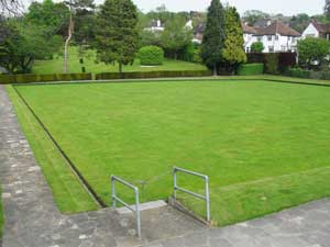 Marlpit Lane Bowling Green in Coulsdon: open for business again