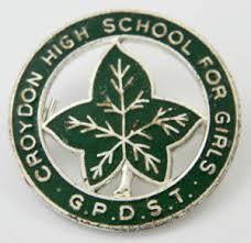 Croydon High School badge