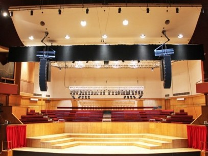 Empty stage: At £13,000 per week, the Fairfield Halls has priced local AmDrams off the premises. Meanwhile, it continues to promote derivative tribute acts who attract fewer than a hundred ticket sales