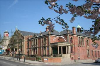 Stanley Halls: local residents have obtained charity status to run the re-opened venue