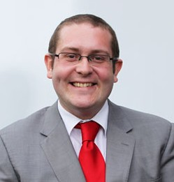 Chris Clark, as he appears on the Ashford Council website. He has been selected to stand for Labour in Croham in 2014